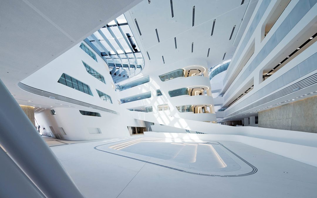 Vienna –  Economics Library by Zaha Hadid