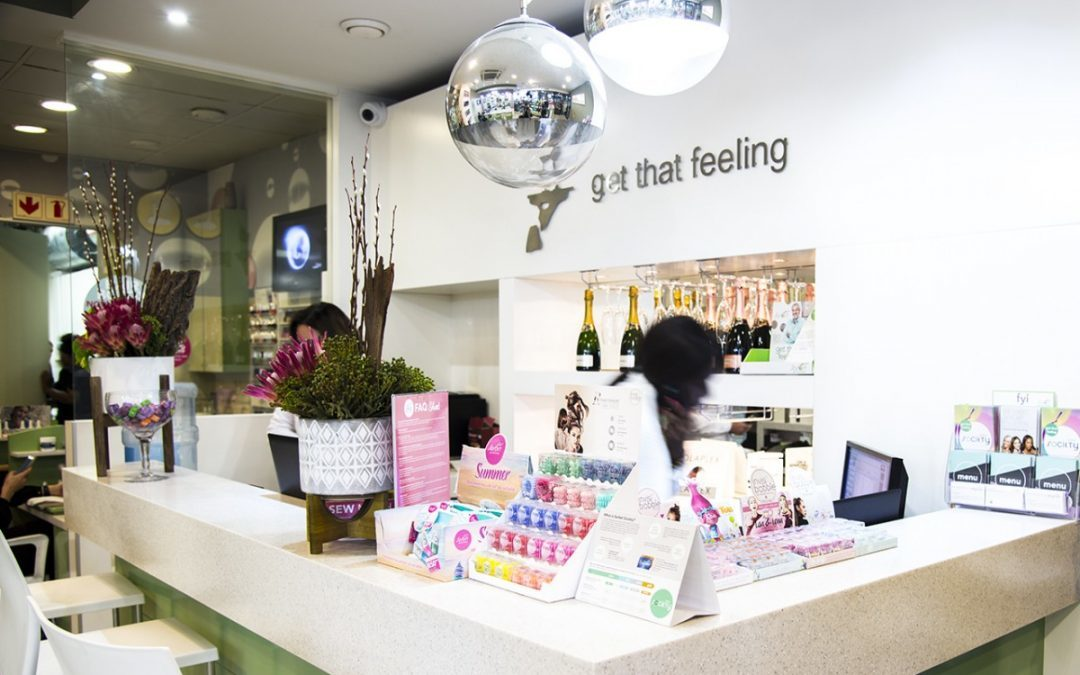 Sorbet Dry Bar Dunkeld – Styling the Mentor