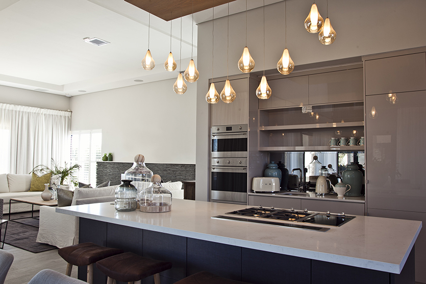 Eurolux Functional Decorative Pendant Lighting In The Kitchen Habitat Magazine South Africa