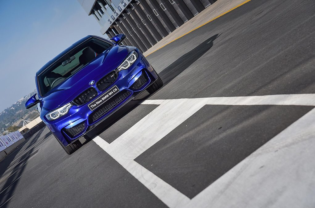 The new BMW M4 CS launched at the first-ever BMW M Festival at the Kyalami Grand Prix Circuit.
