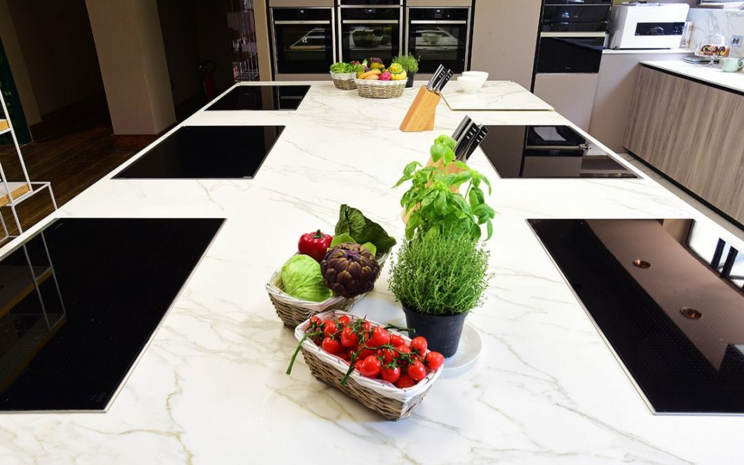 Neolith®: Design elegance at the heart of Sonia Peronaci's cookery school