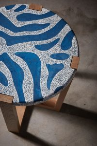 AVOOVA - Nama Side Table - Zebra design