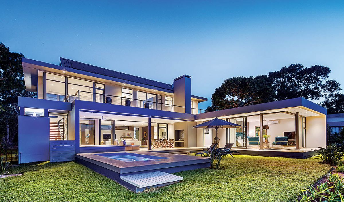 Caisa villa habitat magazine south africa for Local residential architects near me