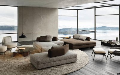 Minotti – Granville Seating System by Christophe Delcourt design
