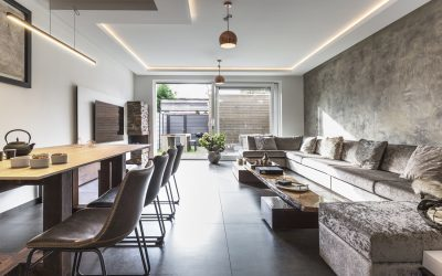 Neolith delivers contemporary look to high-spec Netherlands show home