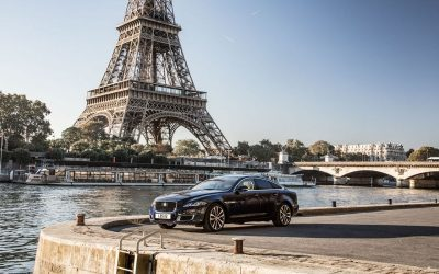 50 Years Of Jaguar XJ: Historic Convoy To the Paris Motor Show