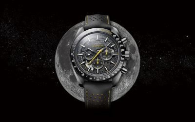 OMEGA – Speedmaster Dark Side Of The Moon Apollo 8