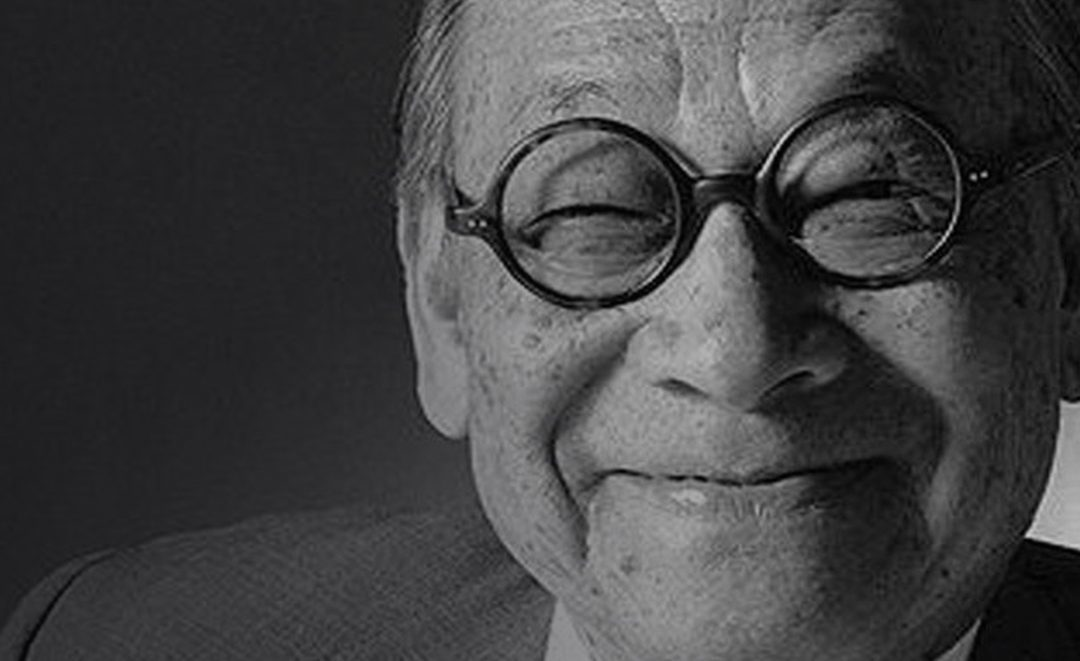 Passing of Genius – I M Pei – 1917-2019