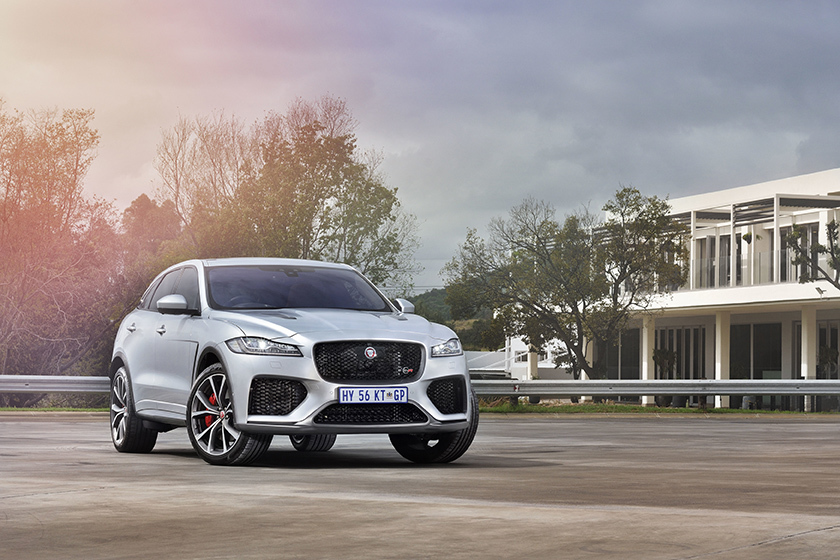 405kW Jaguar F-PACE SVR now in South Africa