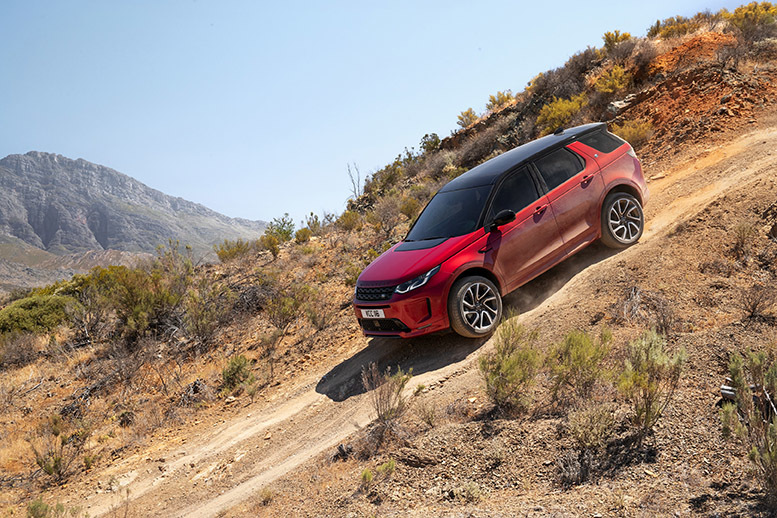 Discovery Sport enhanced for family adventure