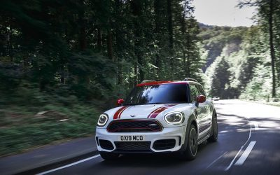 The new MINI John Cooper Works Clubman and the new MINI John Cooper Works Countryman