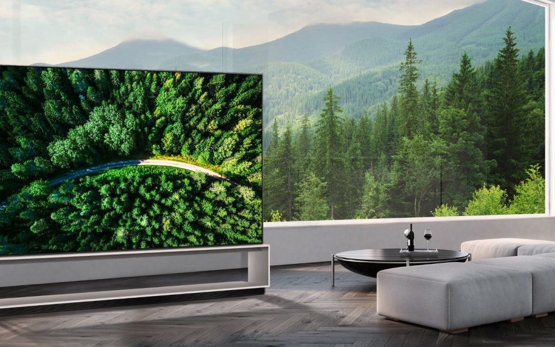LG announces start of sales of world's first 8K OLED TV