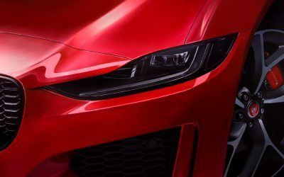 New Jaguar XE is a hyper-real work of art