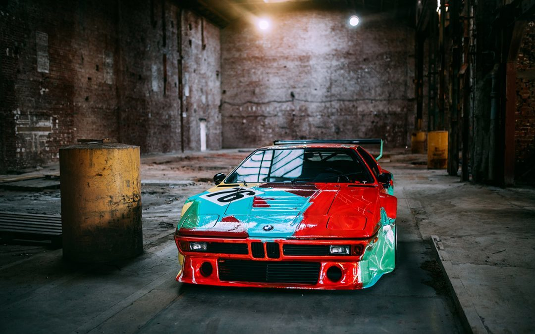 The BMW M1 Art Car by Andy Warhol