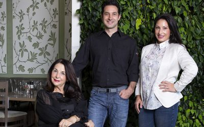 Three generation Italian foodie family behind Cafe del Sol