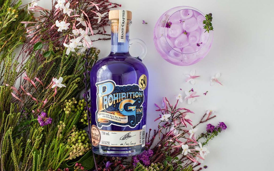 All-new Prohibition Blue Gin is coming to a cocktail near you