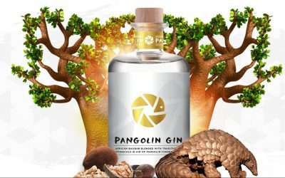 Introducing Pangolin Gin: a zesty gin for a very deserving cause