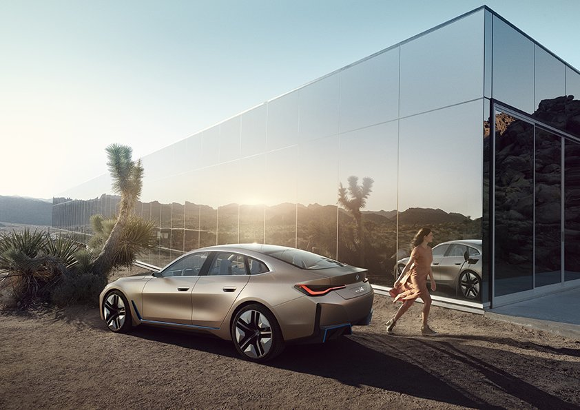 BMW Concept i4 – Stay Ahead In Style
