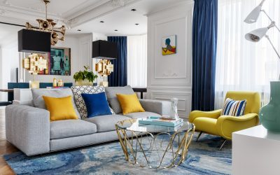 Award-winning Moscow Apartment for Jazzaholic Clients