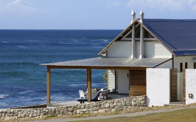 Fishermen, Beach and Iron Kite Houses on the Cape Coast Inform the Lightness of this 2007 Holiday Home