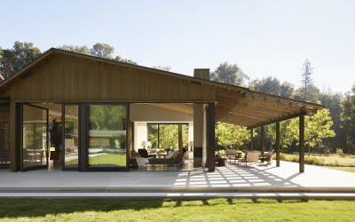 Towering Oak Trees in California's 'Horse Country' Inspire a Contemporary Farmhouse Vision that Comes to Be