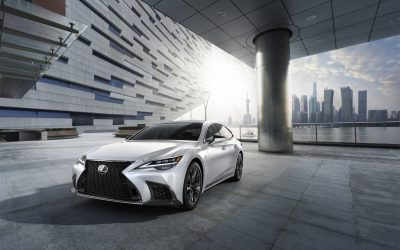 Isn't It Beautiful? Lexus Team Raises Ride Comfort and Drive Performance to Radical New Heights
