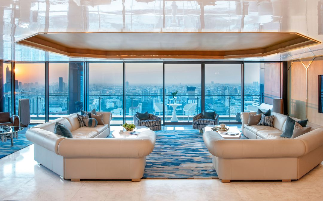 With Its Pulsating Views, This Award-Winning Tailored Penthouse Becomes Bangkok's Magical Urban Oasis